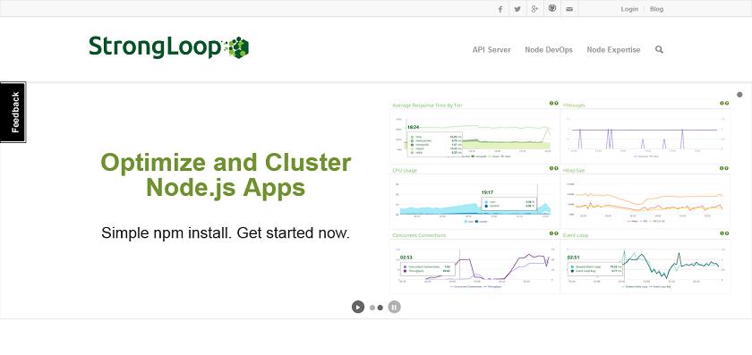 StrongLoop I Open Source API Server powered by Node_js