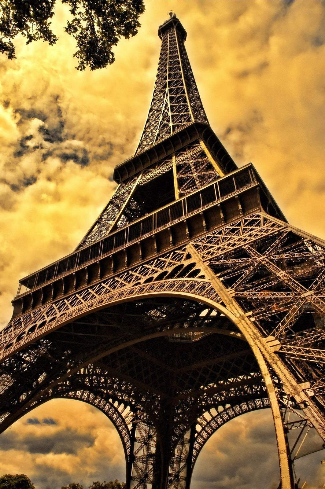 The Eiffel Tower Sepia