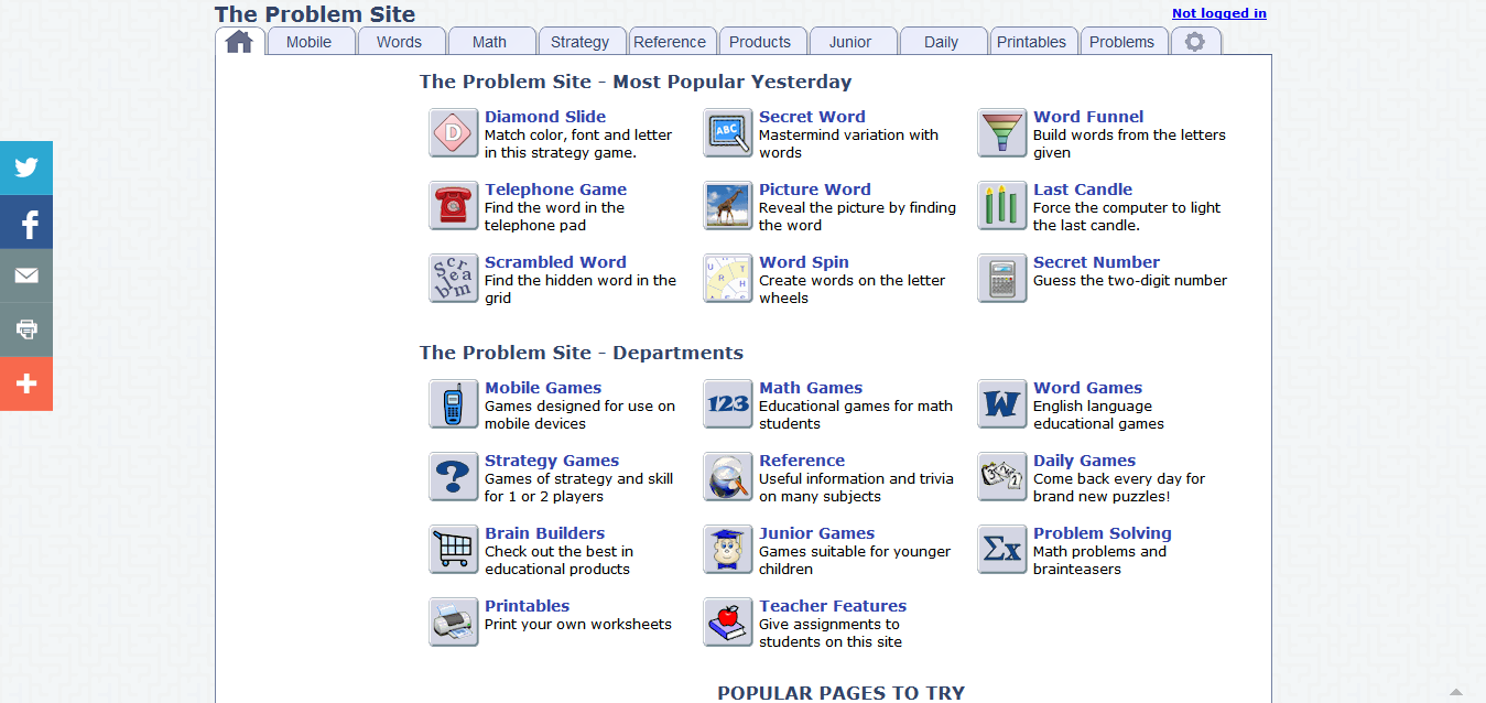 critical thinking and problem solving games Three tools for teaching critical thinking and problem solving skills.