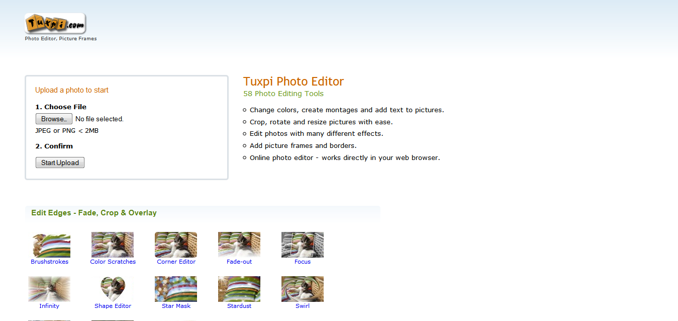 Tuxpi Photo Editor