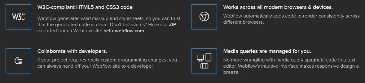 Webflow - Drag & Drop Responsive Website Builder