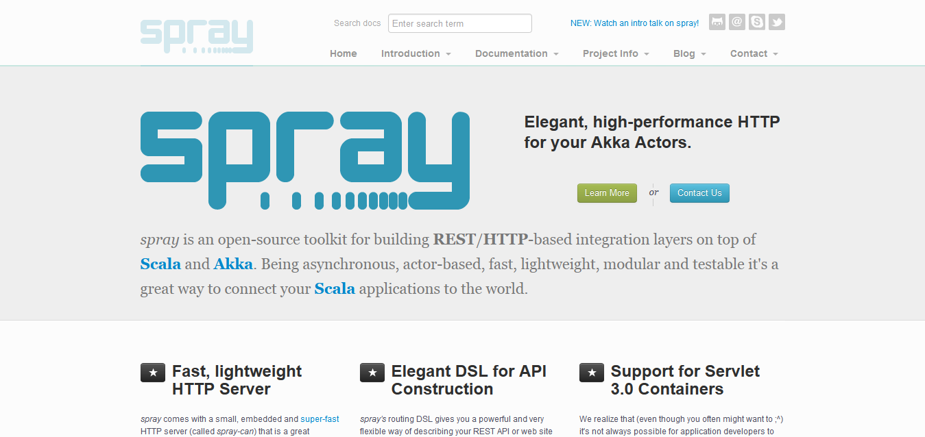 spray I REST_HTTP for your Akka_Scala Actors