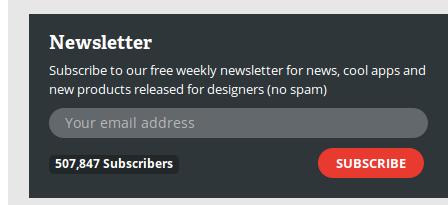 webdesignerdepot.newsletter