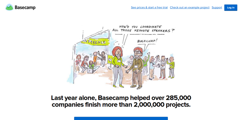 Basecamp: Professional Project Management for Everyone