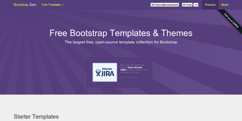 Bootstrap Zero Free Bootstrap Templates and Themes