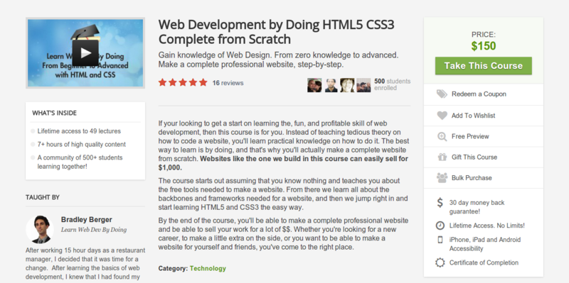 Bradley Berger: HTML5 & CSS3 Complete from Scratch