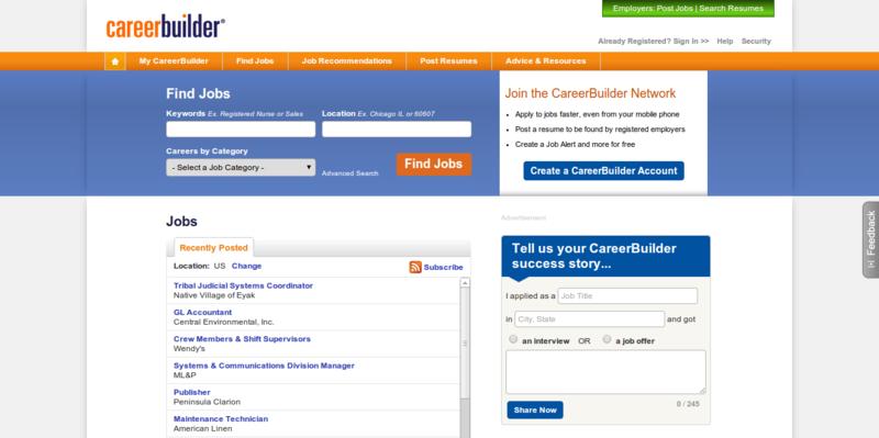 CareerBuilder - Computer Science Jobs