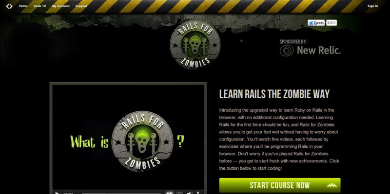 Code School Rails for Zombies