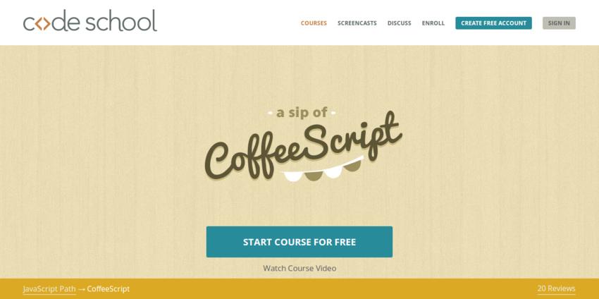 CoffeeScript   Code School