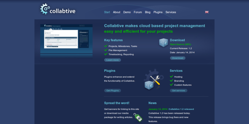 Collabtive Open Source Collaboration
