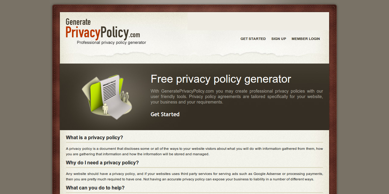 Create Free Privacy Policy