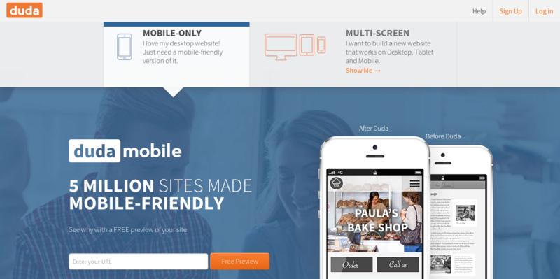 Create a Mobile Website Make a Mobile Website Free with Duda s Website Builder