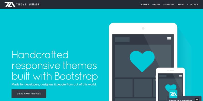 Creative Responsive Bootstrap Themes Theme Armada