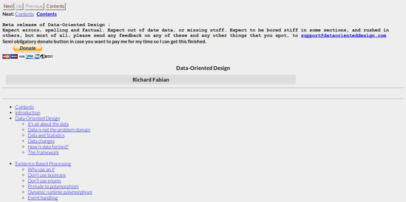 Data Oriented Design