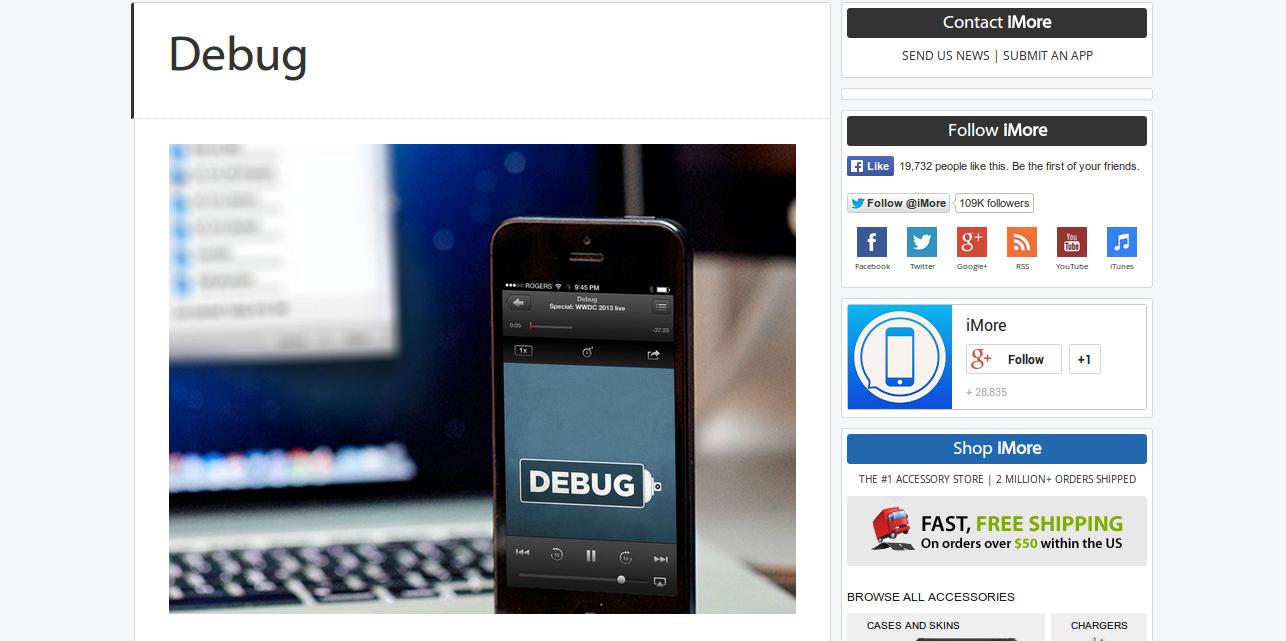 Debug: Service & Software Development for Apple Developers