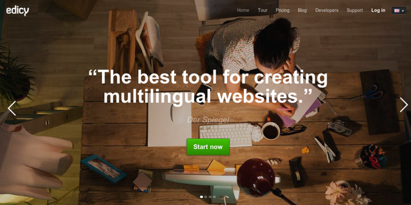 Edicy — Create a Website — Easy to use Website Builder