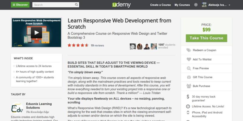 Eduonix: Learn Responsive Web Development from Scratch