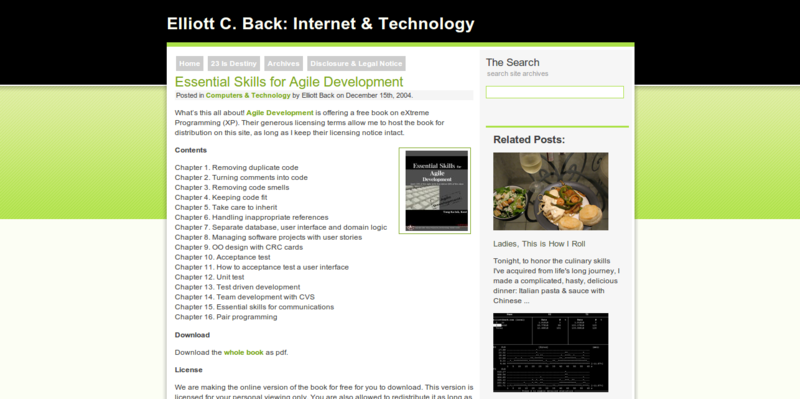 Essential Skills for Agile Development