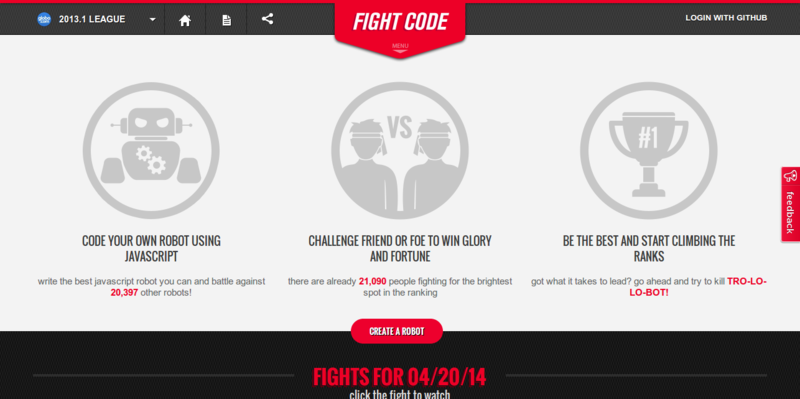 FightCode coding challenges