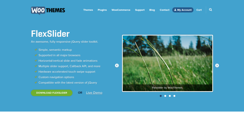 8 Free jQuery Slider Plugins for Images & Content