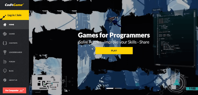 Games for programmers   CodinGame