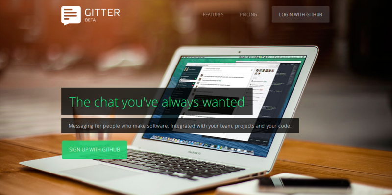 Gitter: Awesome Chat Application for GitHub