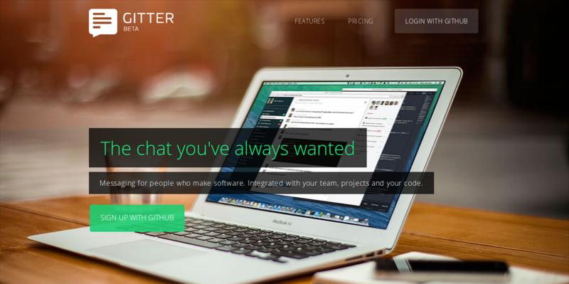 Gitter: Awesome Chat Application for GitHub