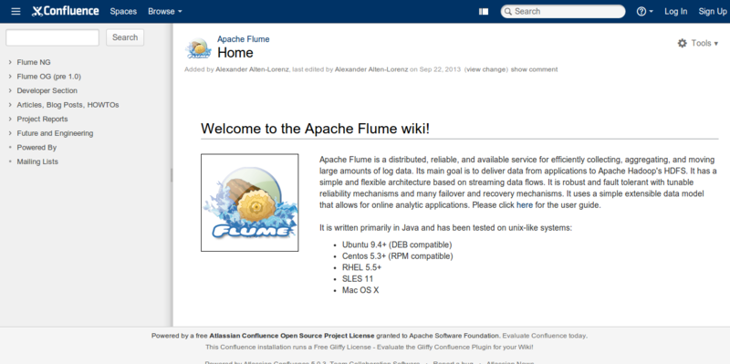 Home Apache Flume Apache Software Foundation
