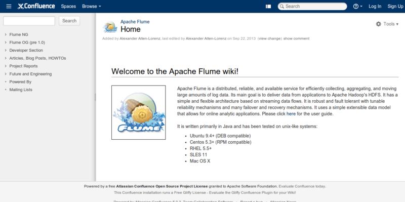 Home Apache Flume Apache Software Foundation
