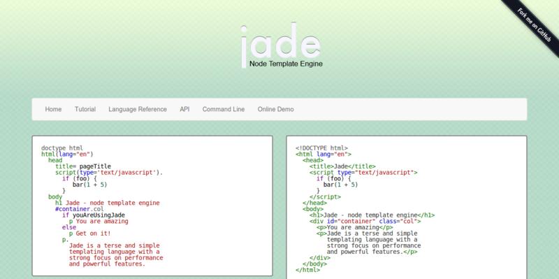 Jade   Template Engine