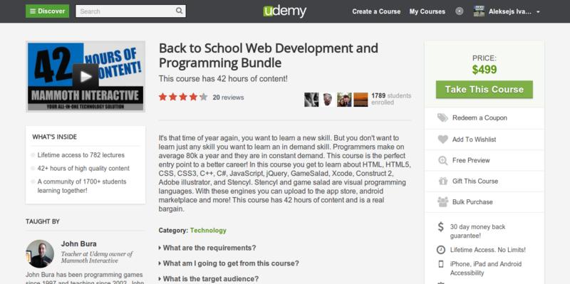 John Bura: Essential Programming Bundle for Web Developers