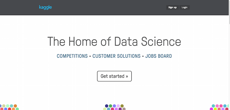 Kaggle  The Home of Data Science
