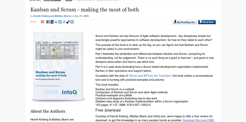 Kanban and Scrum: Making the Most of Both