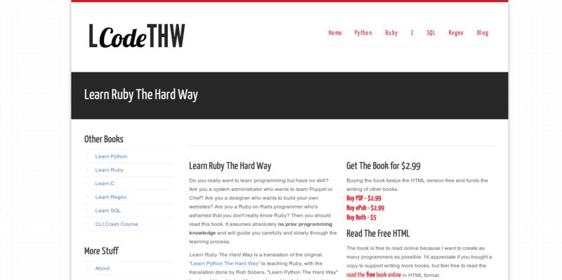 Learn code the hard way pdf free