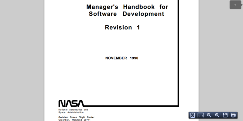 Managers Handbook for Software Development