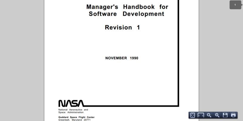 Managers Handbook for Software Development