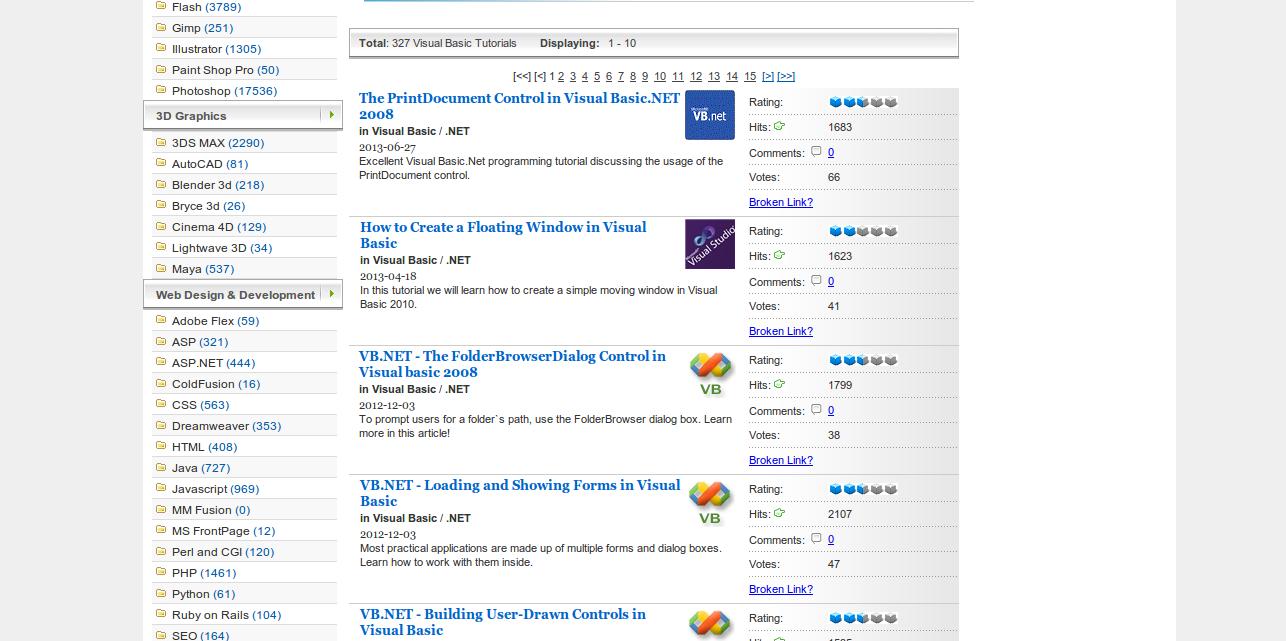 Microsoft Visual Basic Tutorials   Tutorialized