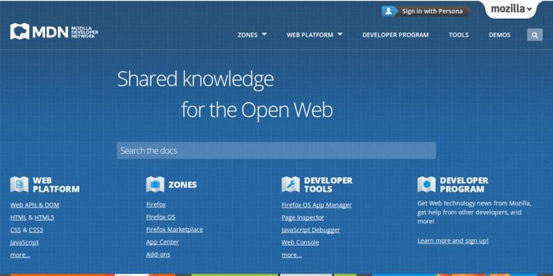 Mozilla Developer Network