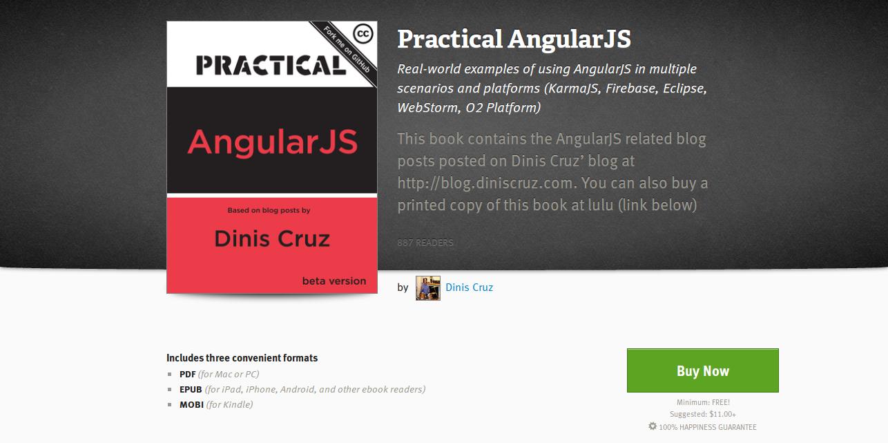 Practical AngularJS by Dinis Cruz Leanpub PDF iPad Kindle