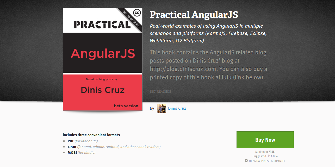 Practical AngularJS by Dinis Cruz  Leanpub PDF iPad Kindle