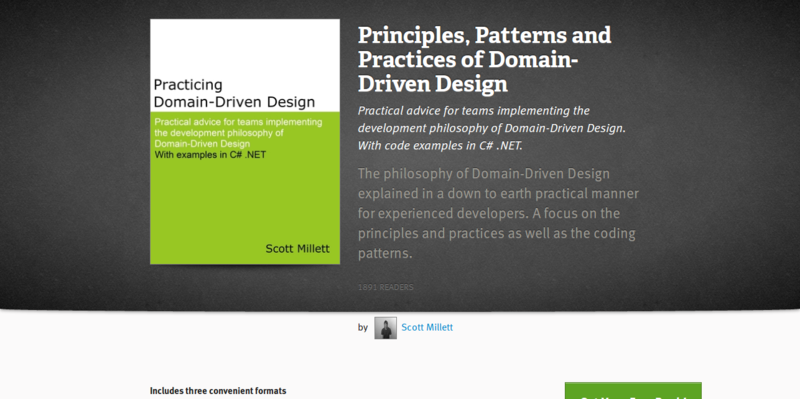 Principles, Patterns and Practices of Domain-Driven Design