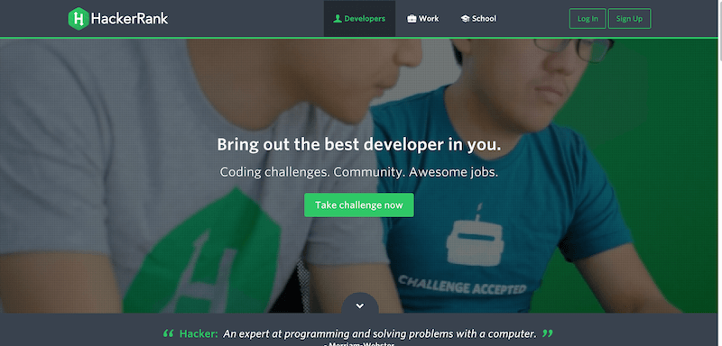 Programming problems and Competitions    HackerRank
