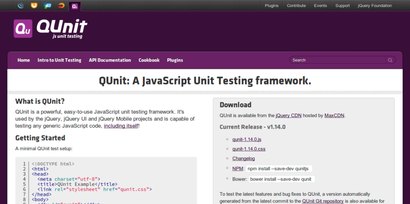 QUnit: Powerful Testing Framework for JavaScript
