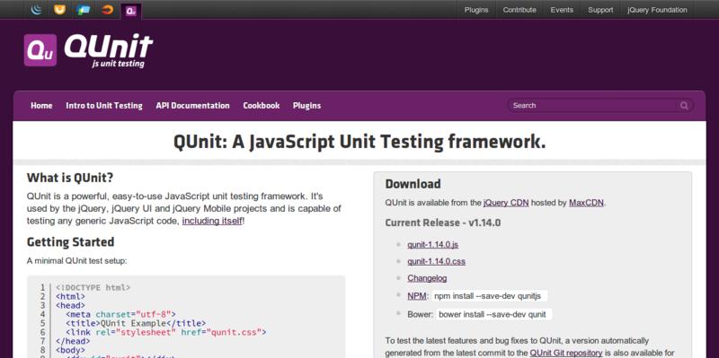 QUnit: Powerful Testing Framework for JavaScript