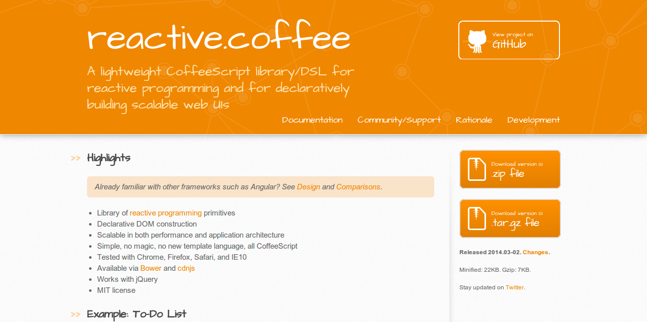 Reactive Coffee