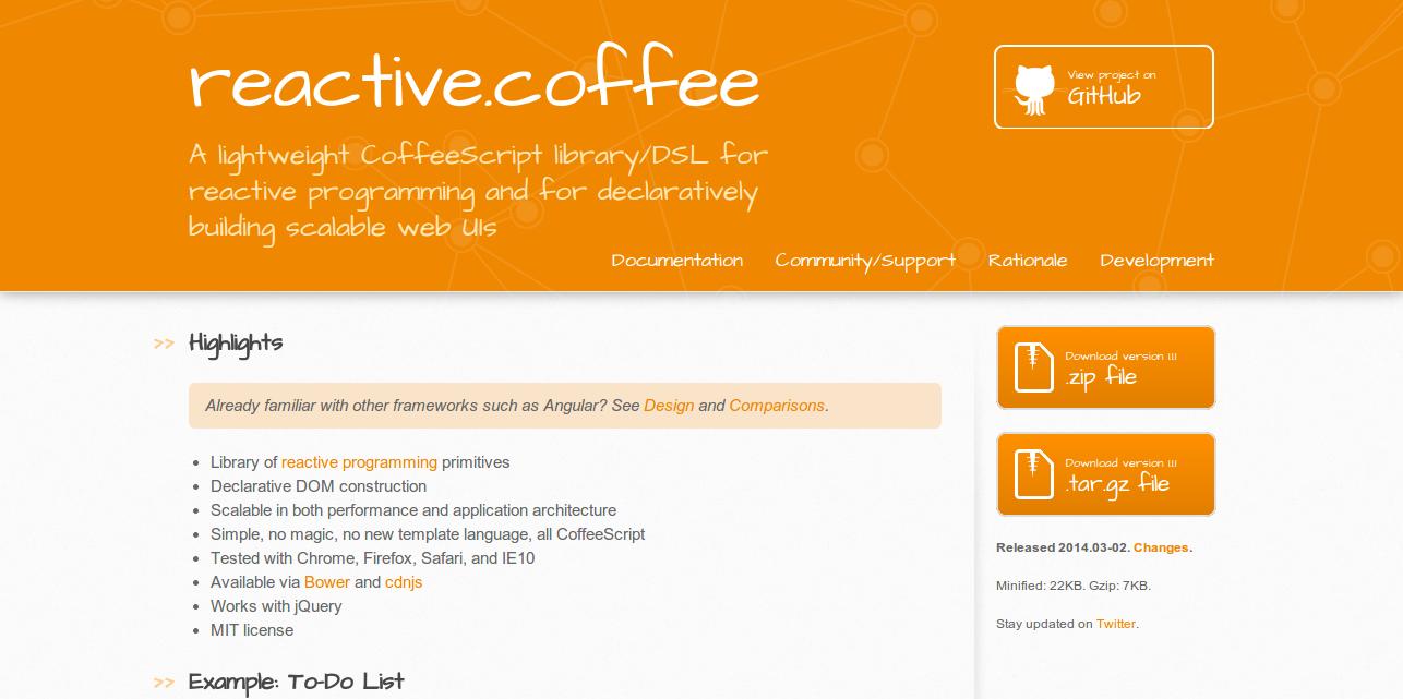 Reactive Coffee