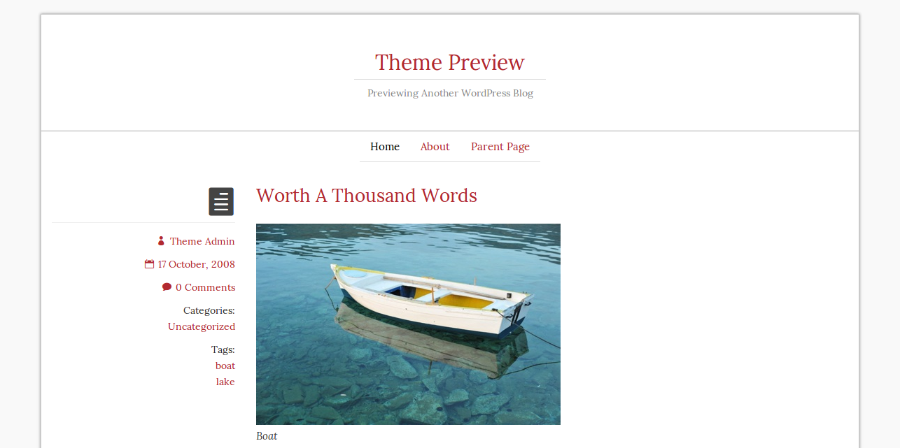 Romangie - WordPress Theme
