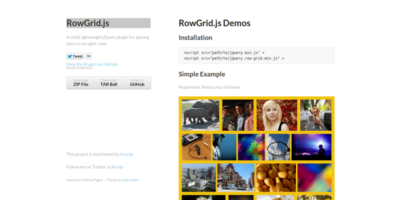 RowGrid.js Demo by brunjo
