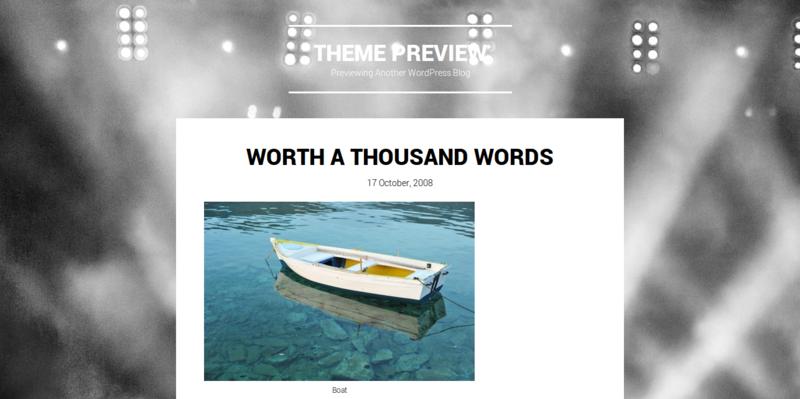 Singl - WordPress Theme