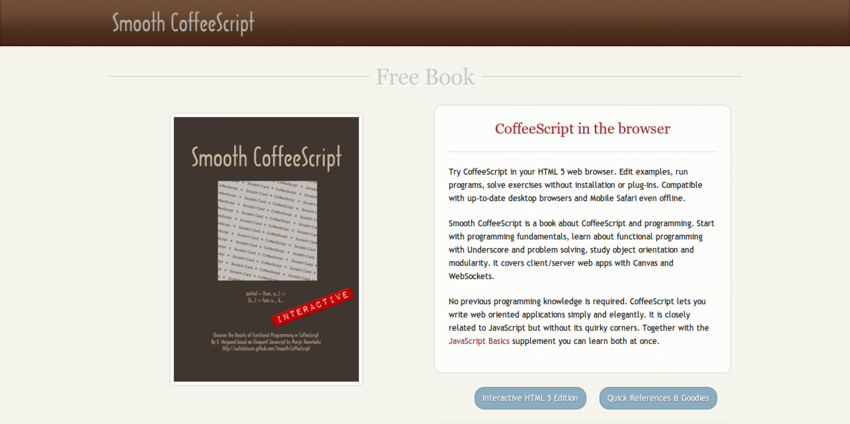 Smooth CoffeeScript